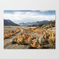 Fall Yukon Valley Canvas Print