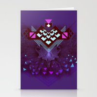 ::Space Bird:: Stationery Cards
