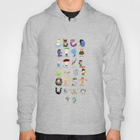 Animated characters abc Hoody