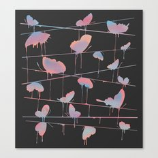 Hanging On for Dear Life Canvas Print