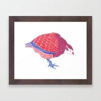 Pretty Partridge Framed Art Print