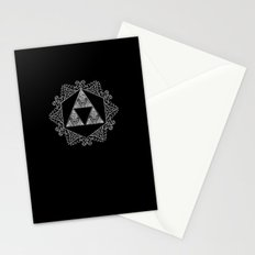 Triforce Aztec Pattern Stationery Cards