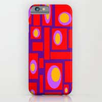 iPhone & iPod Case featuring Mod Pattern Percy by Crash Pad Designs