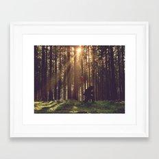 The Long Walk Home ... Framed Art Print