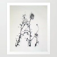 Gunpowder Branches Art Print