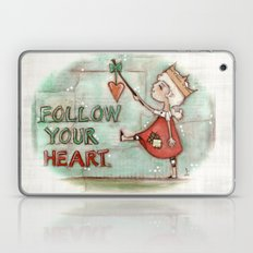 Follow Your Heart - By D… Laptop & iPad Skin