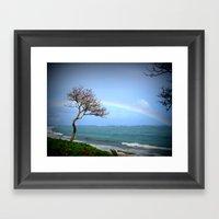 Kauai Rainbow Framed Art Print