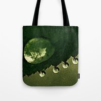 Leaf Drops Tote Bag