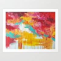 AUTUMN SKIES - Amazing F… Art Print