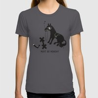 Must Be Monday, Horse Womens Fitted Tee Asphalt SMALL