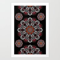 Power Mandala Art Print