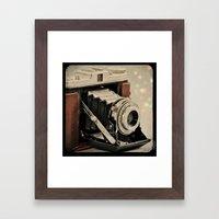 Vintage Camera Magic Framed Art Print