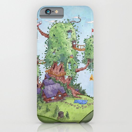 Ode to Finn and Jake iPhone & iPod Case