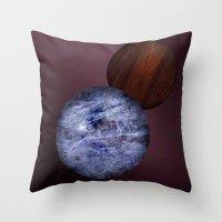 Dark Amsterdam Balls Throw Pillow