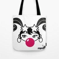 GIUPPY-Black & White Tote Bag