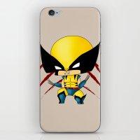 Chibi Wolverine iPhone & iPod Skin