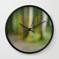 abstract nature dream 2 Wall Clock