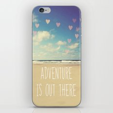 adventure is out there iPhone & iPod Skin