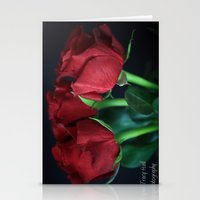 Rose Passion Stationery Cards