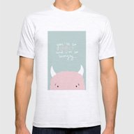 You're So Lovely And I'm… Mens Fitted Tee Ash Grey SMALL