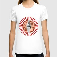 God Save The Dog! Womens Fitted Tee White SMALL