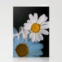 Close up daisy Stationery Cards
