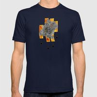 Original Mix Mens Fitted Tee Navy SMALL