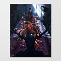 Hannibal: The Dark Banquet Canvas Print