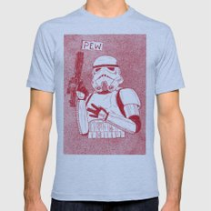 Storm Trooper Mens Fitted Tee Athletic Blue SMALL
