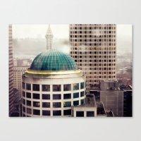 Seattle Plate II Canvas Print