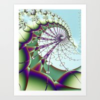 Tethered Art Print