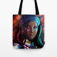 Pirate Queen Tote Bag