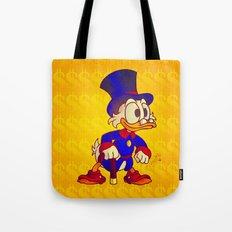 Uncle Scrooge - Ducktales Tote Bag