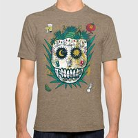 Tequila Mens Fitted Tee Tri-Coffee SMALL