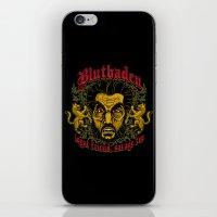 Blutbaden iPhone & iPod Skin