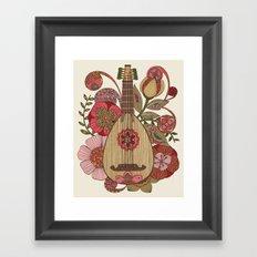Ever Mandolin  Framed Art Print