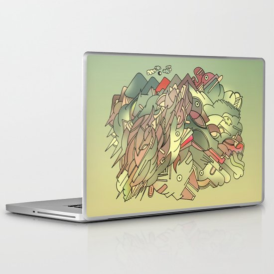 The hills are alive with the sound of Music. Laptop & iPad Skin