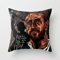 Only God Forgives Throw Pillow