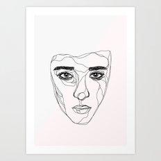 Young Love Art Print