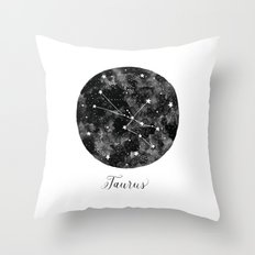 Taurus Constellation Throw Pillow