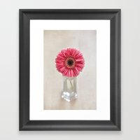 Today I'm Dreaming in Pink Framed Art Print
