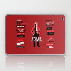 Stiles Stilinski Quotes … Laptop & iPad Skin