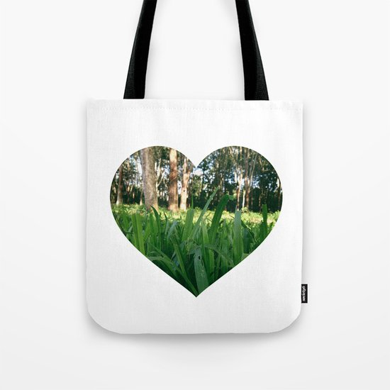 Bed of Grass Tote Bag