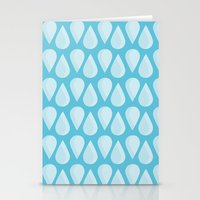 Droplets Stationery Cards