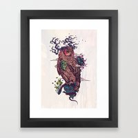 Regrowth Framed Art Print