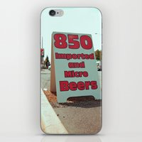 850 beers iPhone & iPod Skin