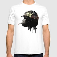 Born to kill Mens Fitted Tee White SMALL