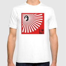 Unfinished Lights (The Face Collection) SMALL Mens Fitted Tee White