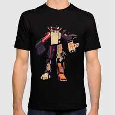 famous car monster Black SMALL Mens Fitted Tee