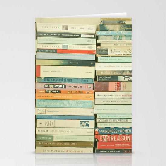 Bookworm Stationery Card